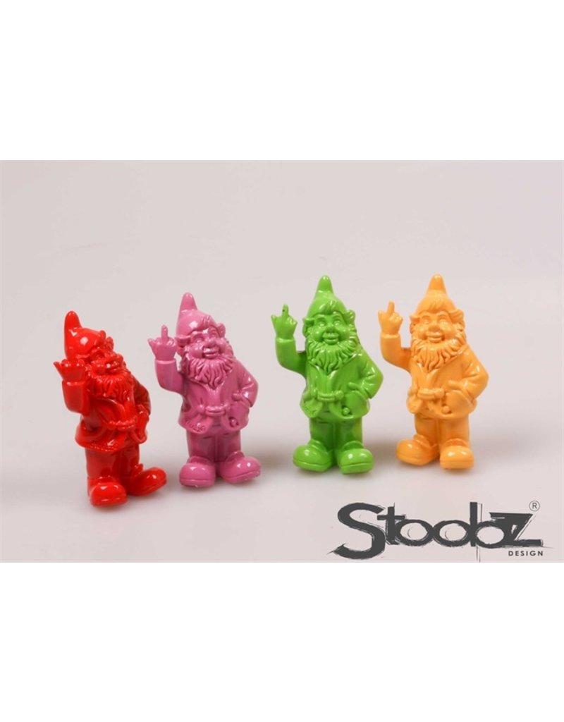 Stoobz STOOBZ KABOUTER 2 F*CK YOU L/R/G/F 10X7X20 CM
