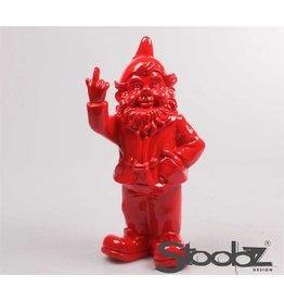 Stoobz KABOUTER 2 F*CK YOU ROOD 16X12X32 CM
