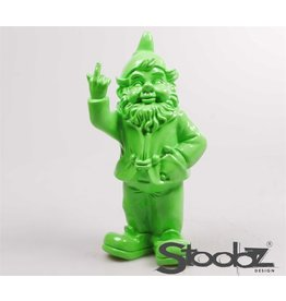 Stoobz KABOUTER 2 F*CK YOU LIME GROEN 16X12X32 CM