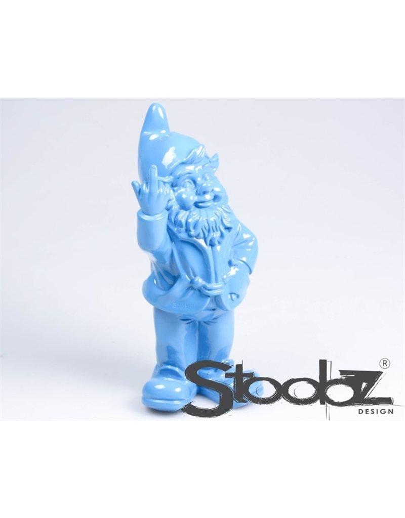 Stoobz KABOUTER 2 F*CK YOU BLAUW 16X12X32 CM