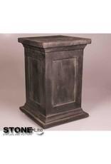 Stone-Lite SOKKEL ZWART 33X33X50 CM DONKER GRIJS
