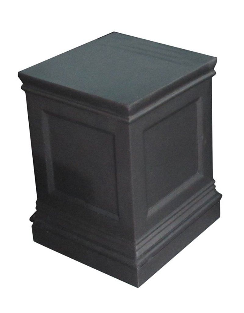 Stone-Lite SOKKEL ZWART 41X41X57 CM DONKER GRIJS