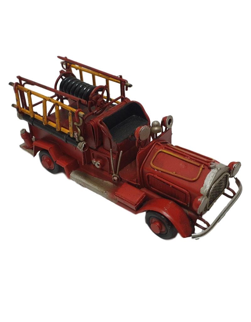 W.F. Peters Brandweer auto 16x5,5x7 cm