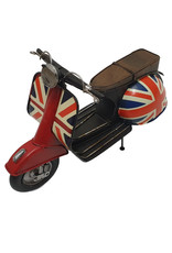 W.F. Peters Scooter rood 30x13x19 cm