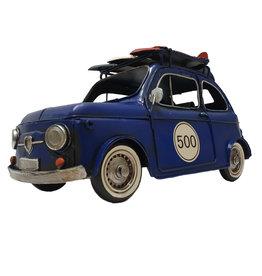 W.F. Peters Auto blauw 32x16x17 cm