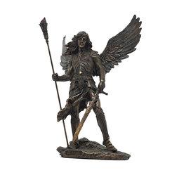 W.F. Peters Aartsengel Sariel (brons kl) 23,5x16x33 cm
