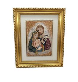 H.Originals Jozef en maria met kind schilderij 30 X 25 CM 1 assortiment