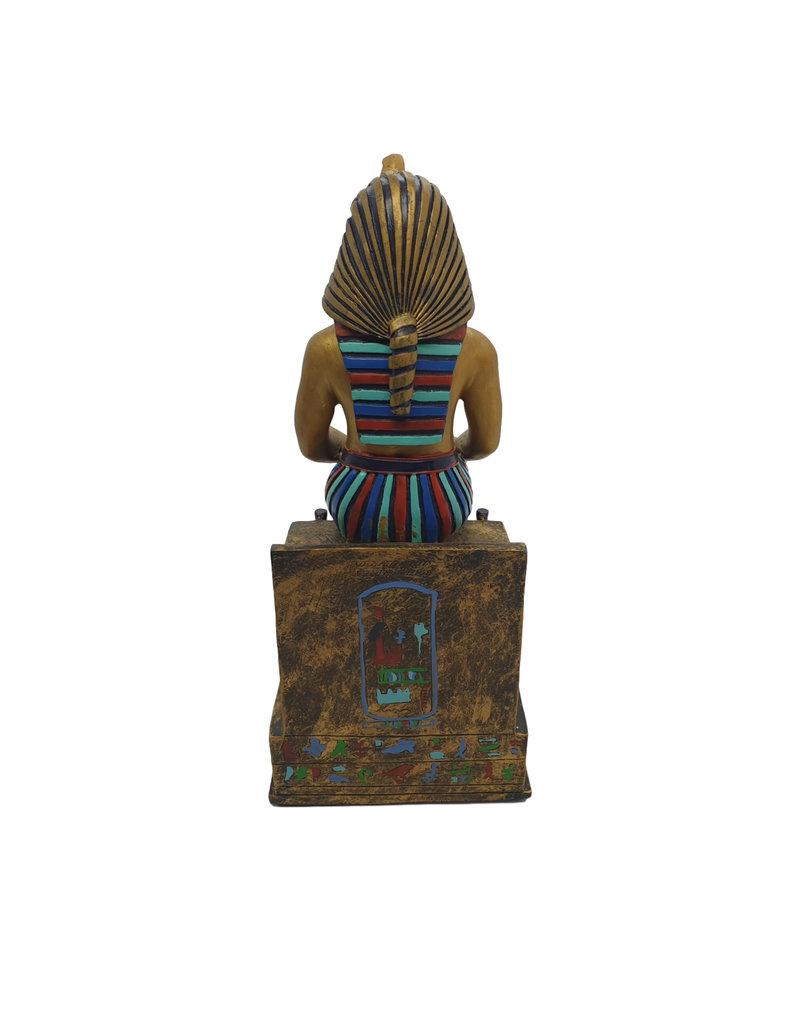 H.Originals Egypte Farao Zittend 24 X 12 CM 1 assortiment