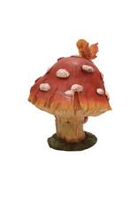 H.Originals Elfje op paddenstoel 17 X 13 CM 2 assortiment