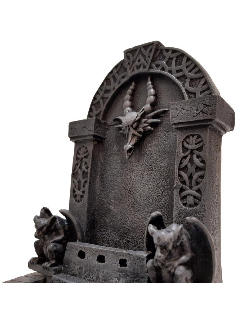 H.Originals Kasteel draak waterval gotic 22 X 10 CM 1 assortiment