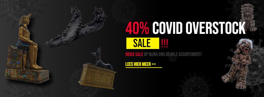 Covid Overstock sale
