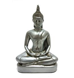 H.Originals Zilveren Thaise Boeddha - Sukhothai lotushouding 18cm