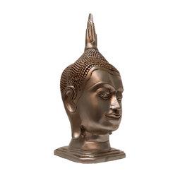 H.Originals Zilveren Thais Boeddha hoofd 24cm