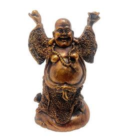 H.Originals Chinese monnik - Happy Boeddha hand geheven  14cm