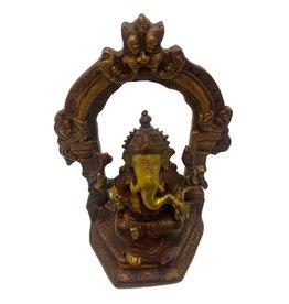 H.Originals Ganesha beeld onder boog 17,5cm