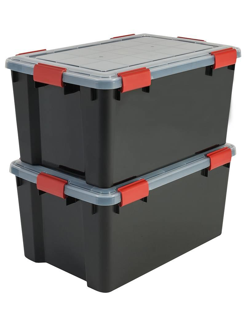 IRIS Air Tight Box - 50 liter - set van 2