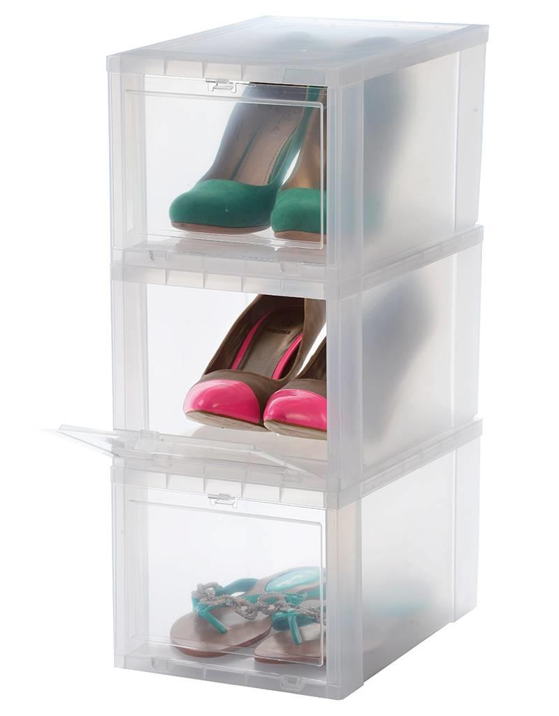 IRIS Drop Front Shoebox - maat S - set van 3