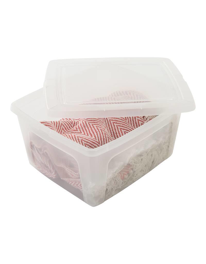 IRIS Modular Clear Box - 18 liter - set van 3