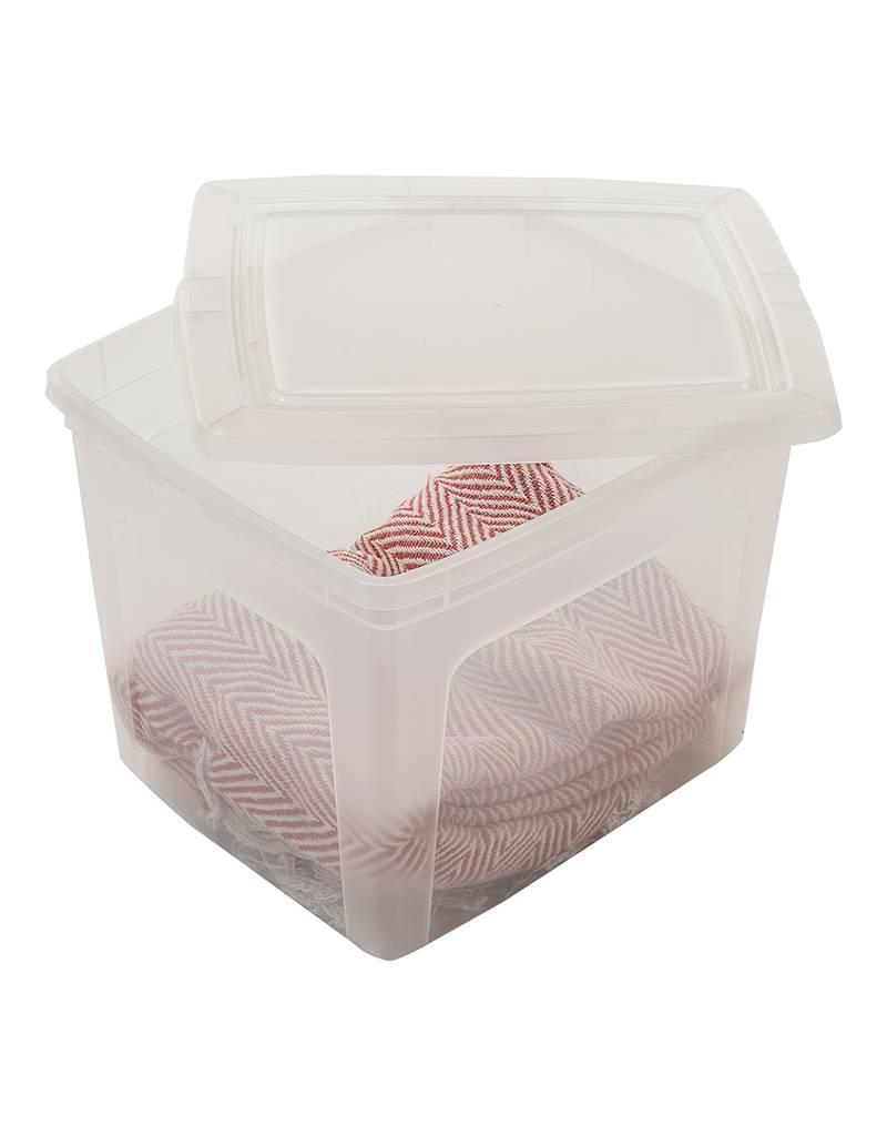 IRIS Modular Clear Box - 30 liter - set van 3