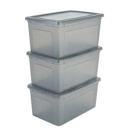 IRIS Modular Clear Box - 50 liter - set van 3