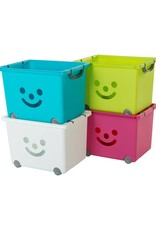 IRIS Smiley Kids Box - 34 liter - set van 2