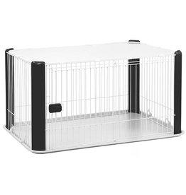 IRIS Puppy Bench - maat M - met dak