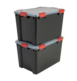 IRIS Air Tight Box - 70 liter - set van 2