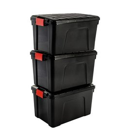 IRIS Store It All Box - 60 liter - set van 3