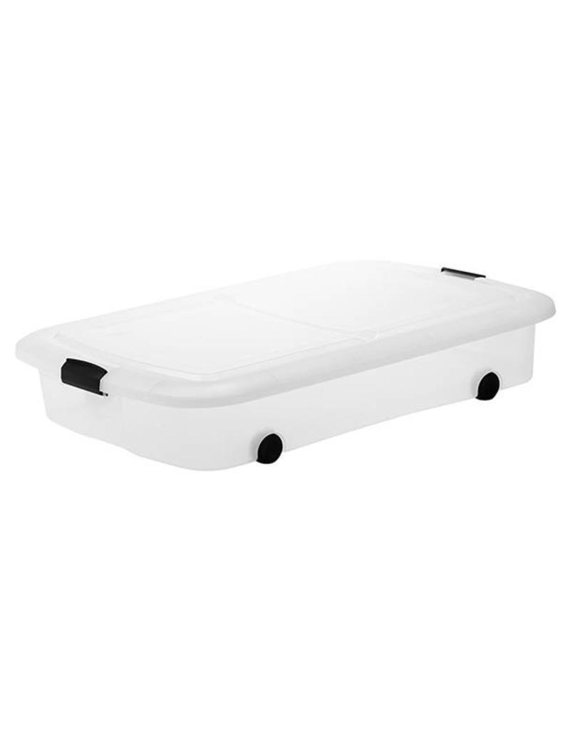 IRIS Modular Clear Box onderbedbox - 55 liter