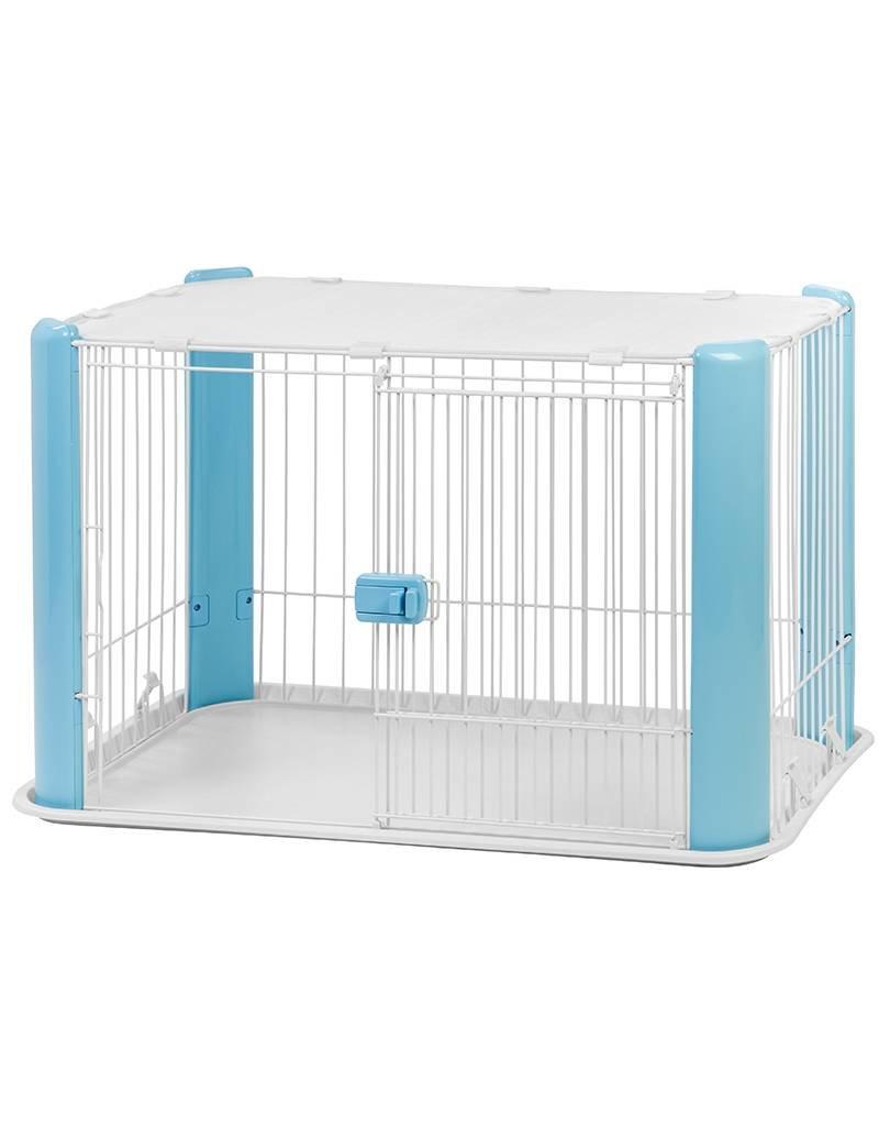 IRIS Puppy Bench  - maat S - met dak