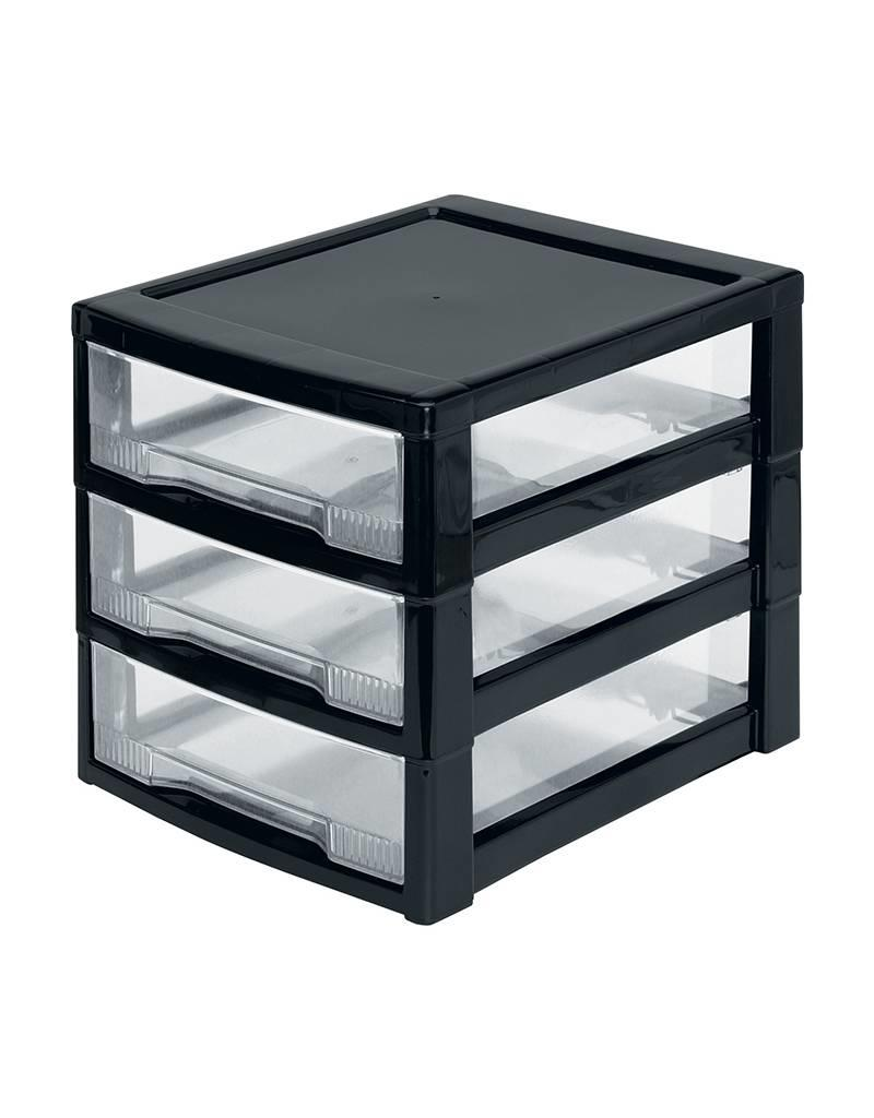 IRIS Super Clear Chest - ladekast - 3 lades