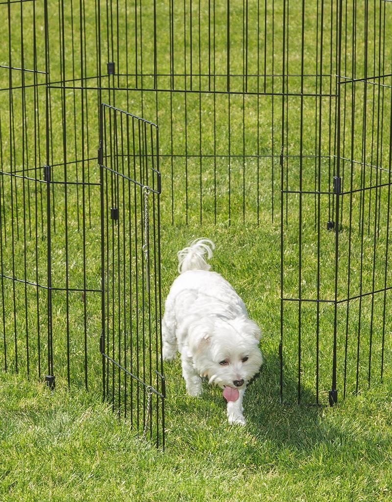 IRIS Wire Pet Circle  36 inch Black