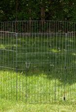 IRIS Wire Pet Circle  36 inch Silver