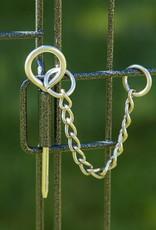 IRIS Wire Pet Circle  48 inch Silver