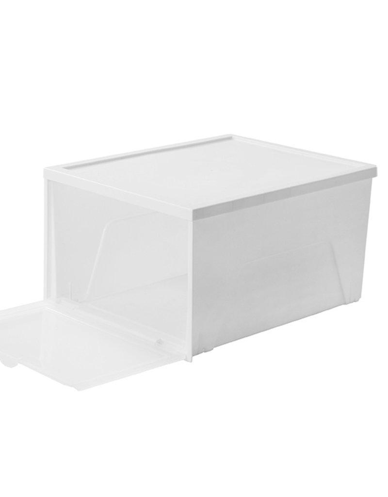 IRIS Foldable Shoe Box - set van 6
