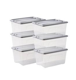 IRIS New Top Box - 45 liter - set van 6