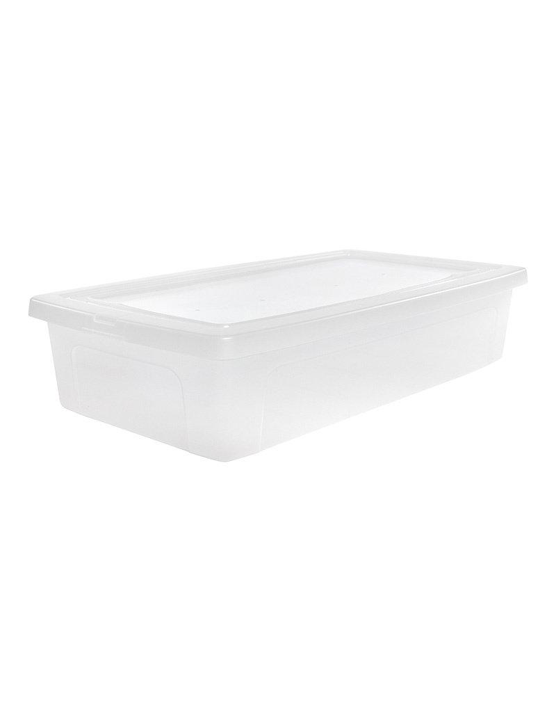 IRIS Modular Clear Box onderbedbox - 30 liter
