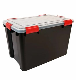 IRIS Air Tight Box - 70 liter - Zwart