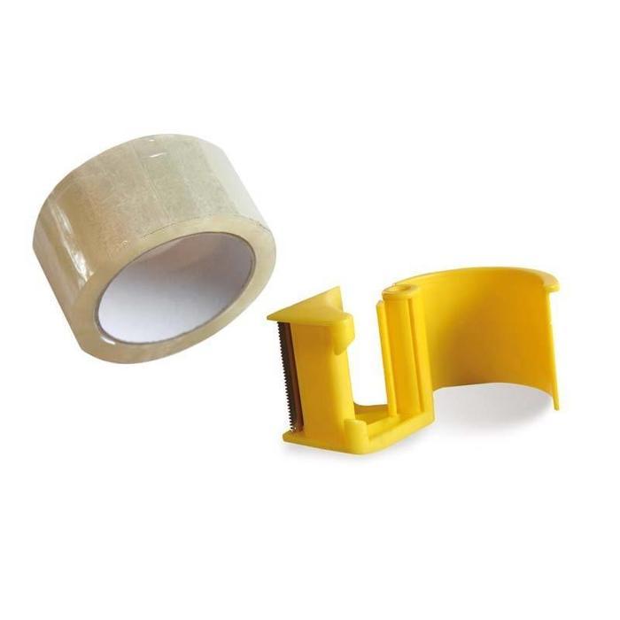 Tape houder met 2 rollen tape
