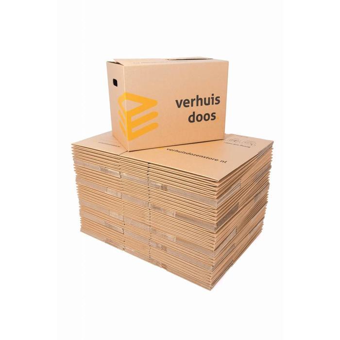 Verhuisdozen standaard autolock 60 stuks