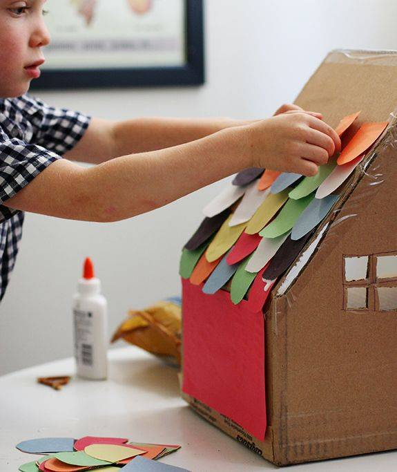 Wonderbaar 5 leuke ideeën om te knutselen met dozen - Verhuisdozenstore.be OD-26