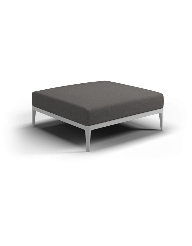 Gloster Gloster Grid Lounge Tuinbank Ottoman