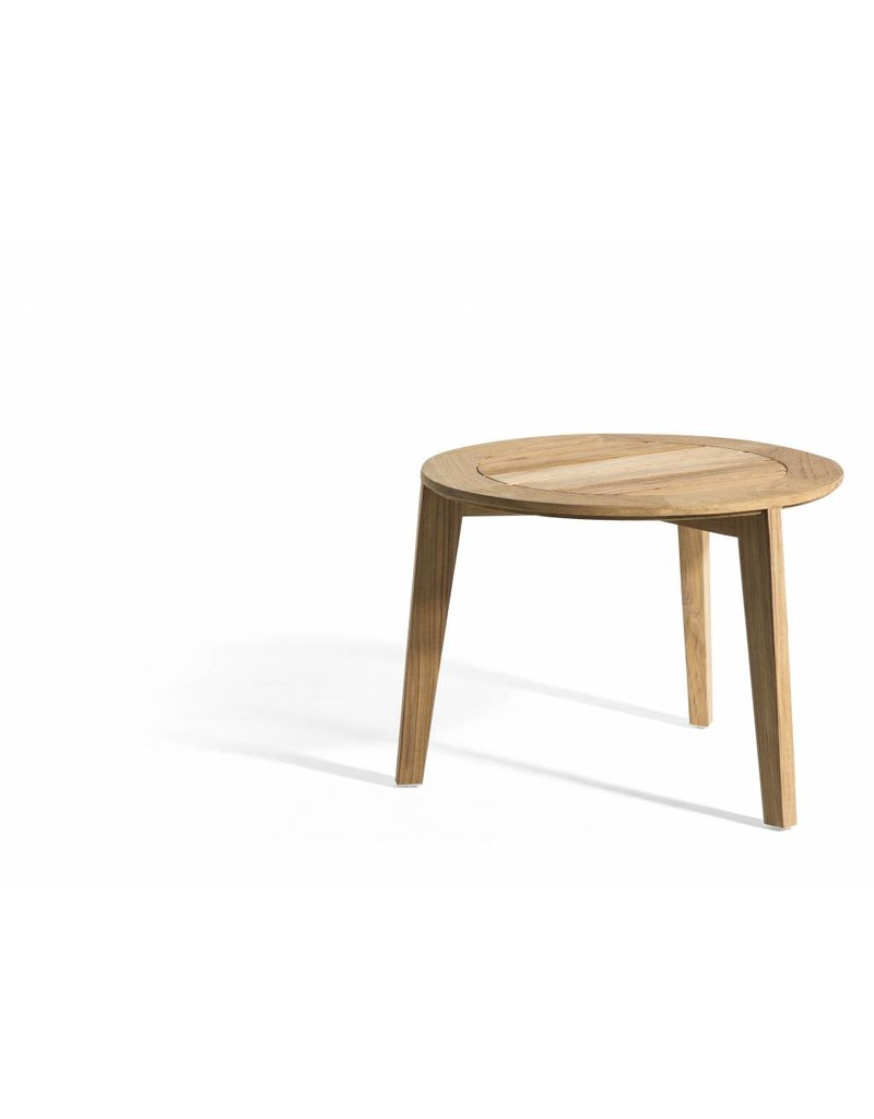 OASIQ OASIQ Attol teak-houten bijzettafel 50x50cm
