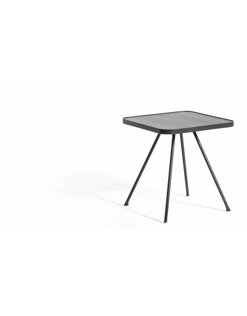 OASIQ OASIQ Attol Aluminium Bijzettafel 45x45cm