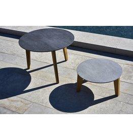 OASIQ OASIQ Attol teak-houten keramische bijzettafels