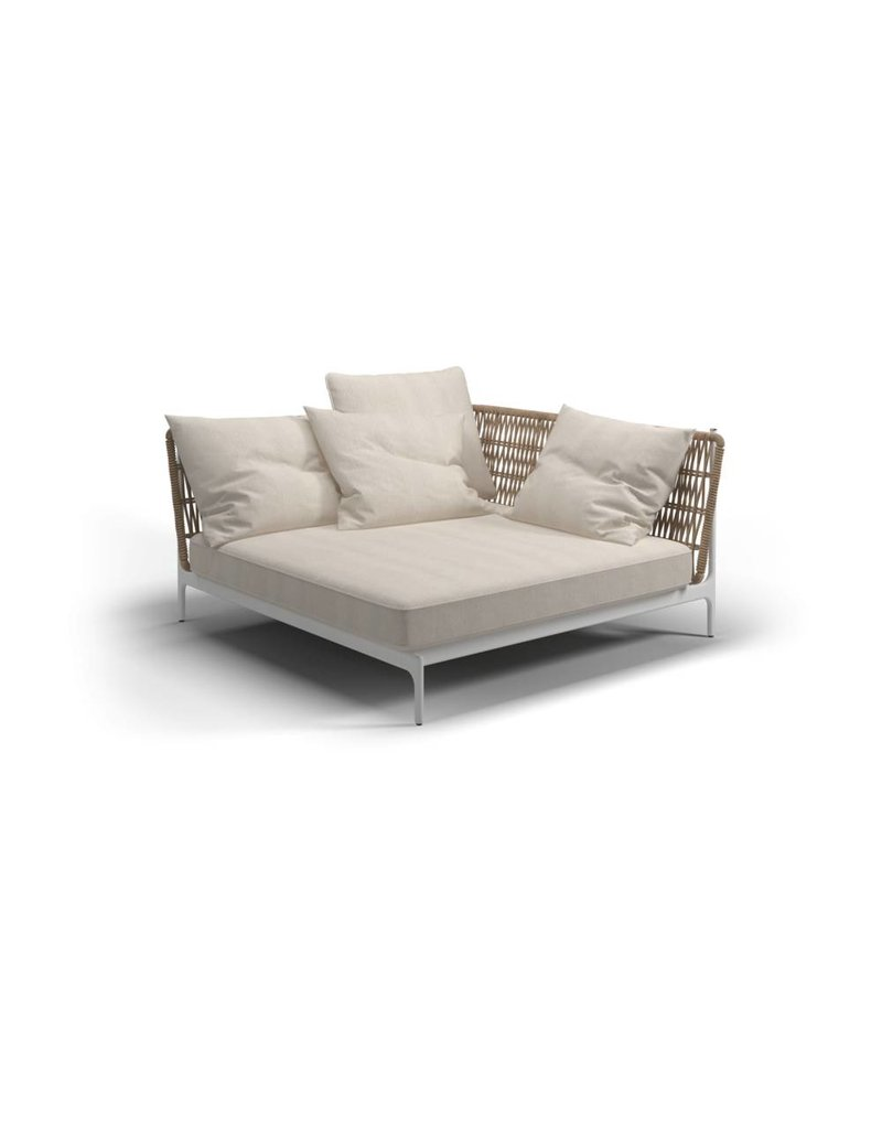 Gloster Gloster Grand Weave Loungeset - Large Corner