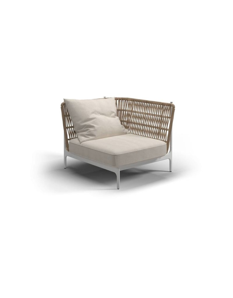 Gloster Gloster Grand Weave Loungeset - Small Corner