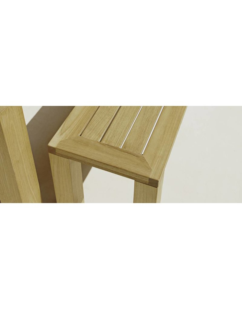 Gloster Gloster Square Bench 131x41cm