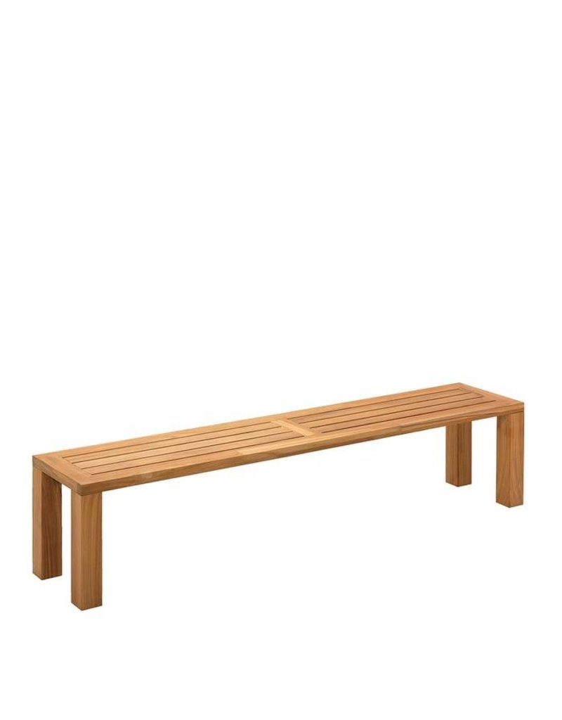 Gloster Gloster Square Bench 210x41cm