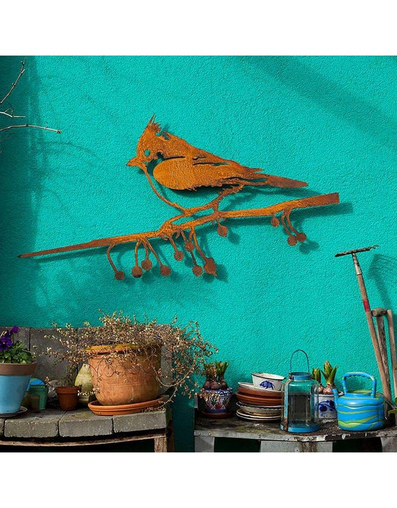 Metalbird Metalbird Wallpiece Kuifmees